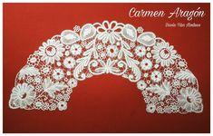 Carmen Aragon Needle Lace, Bobbin Lace, Diamond, Jewelry, Bobbin Lacemaking, Knights, Fabrics, Lace, Jewlery