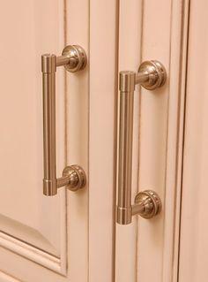 Satin Nickel Cabinet Pulls. Restoration Hardware