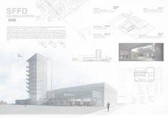 SFFD Headquarters_VHO / VHO (Kyoung Yul Kim, Sujin Kim). Ajou University