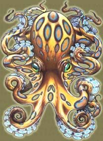 @Shanna Freedman Griffith   ~Octopus Tattoo~