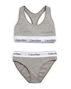 9ca2354d7b8fc Calvin Klein Underwear Modern Cotton Bralette and Bikini Gift Set  QSET001