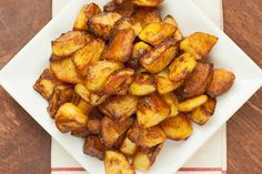 Our Best Oven-Roasted Potatoes: These delicious, oven-roasted potatoes are perfectly-browned, crisp on the outside and soft in the center thanks to a quick par-boiling prior to roasting.