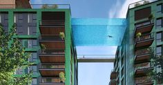 Suspended 'Sky Pool' will let Londoners swim in mid air