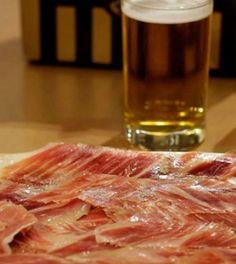 Jamon iberico article Gazpacho, Paella, Tapas, Ham Bone, Prosciutto, Acorn, Beef, Dinner, Food