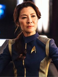 Michelle Yeoh / Capitã Philippa Georgiou Michelle Yeoh, Star Trek Universe, Star Trek Voyager, Sci Fi Fantasy, Female Characters, Galaxies, All Star, Discovery, Sexy Women