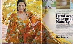 Max Factor    cosmo 1972