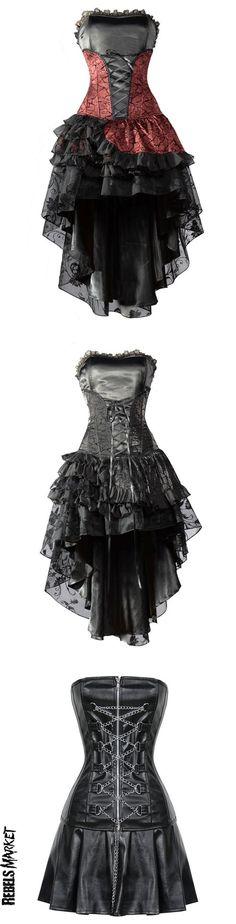 Shop goth Valentine's dresses at RebelsMarket.