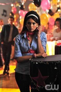 """Unpleasantville"" - Nina Dobrev as Elena in THE VAMPIRE DIARIES on The CW. Photo: Guy D'Alema/The CW ©2009 The CW Network, LLC. All Rights Reserved. (910)"