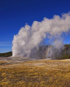"""Aaron Fuhrman on Instagram: """"As if Old Faithful didn't put on enough of a show.  #findyourpark"""""""