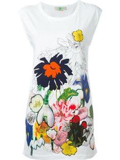 floral print top $313 #Farfetch #fashion! #DesigerClothing