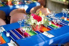 Serapes and Centerpieces - Petite Fleur by The French Bouquet - Expressions Photography