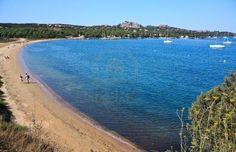 Sold at 123rf: Travel Series. Beach Of Punta Saline  in the Gulf of Saline, Sardinia, Italy Stock Photo - 6720522