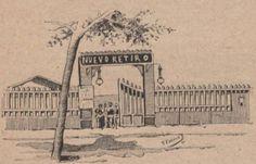 Teatro Nuevo Retiro en la calle Corts (Gran Via). Barcelona, 1898.