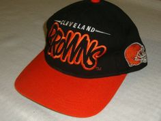 Cleveland Browns Vintage Starter Snapback Hat Cap NFL football jersey Rare !!