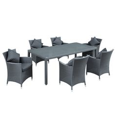 7-Piece Panorama Outdoor Dining Set