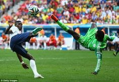 Brasil 2014: France v/s Nigeria Photos | Football Wallpapers