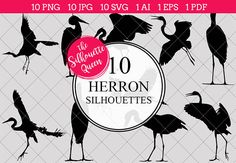 Our Heron bird Silhouette Clipart includes PNG files with transparent backgrounds at The PNGs are approximately 10 inches at it's widest point. JPG files with whitebackgrounds at The JPGs are approximately 10 inches at it's widest…Read more › Silhouette Painting, Silhouette Clip Art, Black Silhouette, Silhouette Studio, Vector Design, Logo Design, Symbol Design, Graphic Design, Painting Love Couple