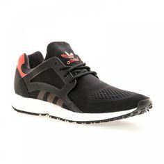 Adidas Originals Adidas Men's Racer Lite EM Trainers (Black/White/Red) - Adidas Originals from Loofes UK