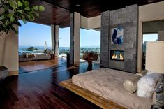 Diseño interior http://www.arquitexs.com/2014/12/Decoracion-Blue-Jay-Residence-Hollywood-Hills.html