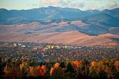 Fall colors in Missoula MT