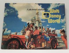 A Pictorial Souvenir Walt Disney World Book 1972 Early by cmwhite2