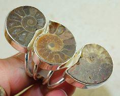 Mine! // Ammonite Fossil 925 Silver Ring | eBay
