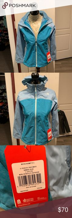 b7bdf9ad57c0   NWT ❄️North Face Tri-climate Girls 14 16 Retails at  150 Great winter coat  Would fit woman small The North Face Jackets   Coats