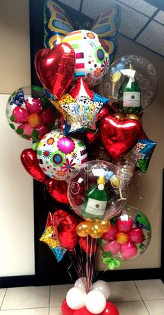Happy Anniversary Balloon Bouquet Best Fer Delivery Balloonbouquet Heatballoon