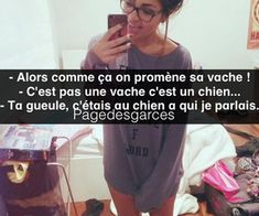"""Find and save images from the """"Citation de Garce ♥"""" collection by zoe cote (LovingSport) on We Heart It, your everyday app to get lost in what you love. Laughing And Crying, Lol, Teen Life, Tumblr Quotes, I Feel Good, Feel Better, Jokes, Phrases, Messages"""