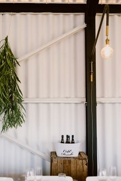 Dani and PJ's hanging greens. Photo by Lad & Lass Hanging Flower Arrangements, Hanging Flowers, Curtains, Home Decor, Blinds, Decoration Home, Room Decor, Draping, Home Interior Design