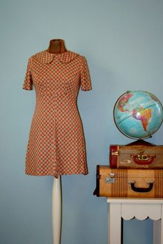 Vintage School Girl Dress