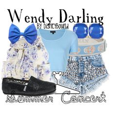 """""""Wendy Darling"""" by leslieakay on Polyvore"""