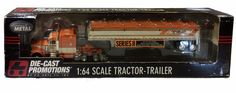 DCP Truck 1/64 Peterbilt 379 Tri-State Commodities 30416 Tractor-Trailer RARE #DieCastPromotions #Peterbilt