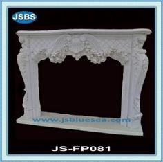 Stone Carved marble fireplace mantel Marble Fireplace Mantel, Marble Fireplaces, Fireplace Mantels, Marble Carving, Plastic Film, Wooden Crates, Animal Sculptures, Flower Pots, Fountain