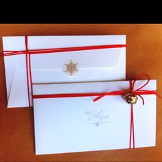 Christmas envelope for a miss gift