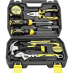 The Ultimate Gift Guide for Teenage Boys. Here are 80 gift ideas for the teenage boy that they actually want making your life easier this holiday season. Hand Tool Kit, Tool Set, Plastic Tool Box, Tool Box Storage, Cordless Hammer Drill, The Ultimate Gift, Home Tools, Gifts For Teens, Teen Gifts