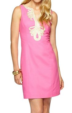 Lilly Pulitzer Janice Shift Dress in Hotty Pink