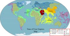 For reference only, these are the territories and locations for the Four Empires period. Atlantis: Noted by the Aqua Green, fabled empire Atlantis fitti. Four Empires Map Final Atlantis, Egyptian Tattoo Sleeve, Fantasy World Map, Mediterranean Architecture, Map Globe, Alternate History, Ancient Mysteries, Prehistory, Deviantart