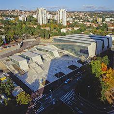 Centro Comercial e Esportivo ZAMET, por 3LHD Arquitetos