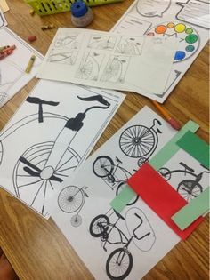 Mrs. Knight's Smartest Artists: Rad Bikes, '13