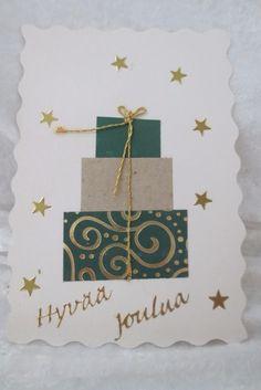 Christmas Fair Ideas, Christmas Card Crafts, Homemade Christmas Cards, Christmas Greetings, Homemade Cards, Christmas Decorations, Paper Flowers Craft, Birthday Cards, Card Making
