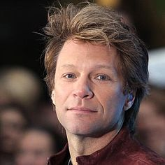"""Jon Bon Jovi. I love his band and im a big fan. """"Have a nice day"""" is one of my favorites."""