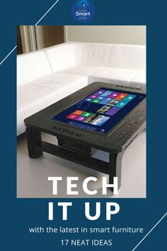 Smart Home Furniture: 17 Ultra-Modern Ideas for 2020 [Sofas, Chairs, Tables, Lighting…] Tech Magazines, Furniture Ideas, Garage Furniture, Smart Furniture, Wood Furniture, Furniture Design, Garden Posts, Home Tech, Urban Survival