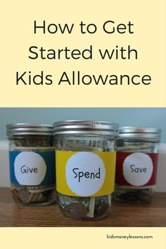 Allowance is a great way to let kids practice money management at a young age. Here's your go-to guide on how to get started with kids allowance.