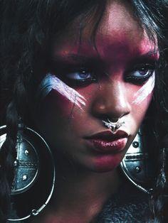 Rihanna in W magazine September 2014