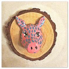 This Little Piggy Bust by HistoriaAnimalium on Etsy
