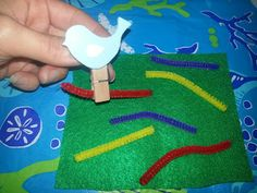 Children At Play: Pick Up the Worms-- A Fun and Easy To Make Busy Bag!