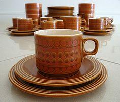 Hornsea Pottery Saffron Range