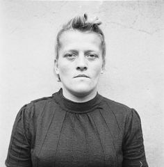 Female Nazi Concentration Camp Guards - Hildegard Lohbauer: sentenced to 10 years imprisonment.