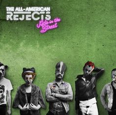 MAMELOK selected for artwork on new All-American Rejects album